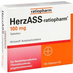 HERZASS RATIOPHARM 100MG
